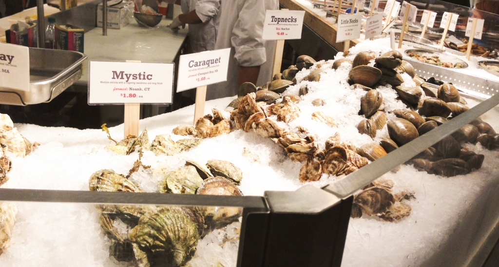 Oysters - The Petit Gourmet©