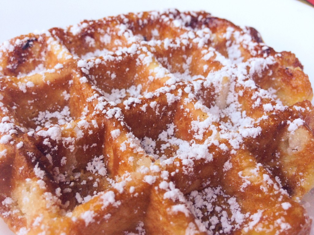 Liège waffle -The Petit Gourmet©