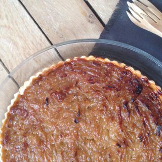 How to make this epic Caramelized onions tart at home?
