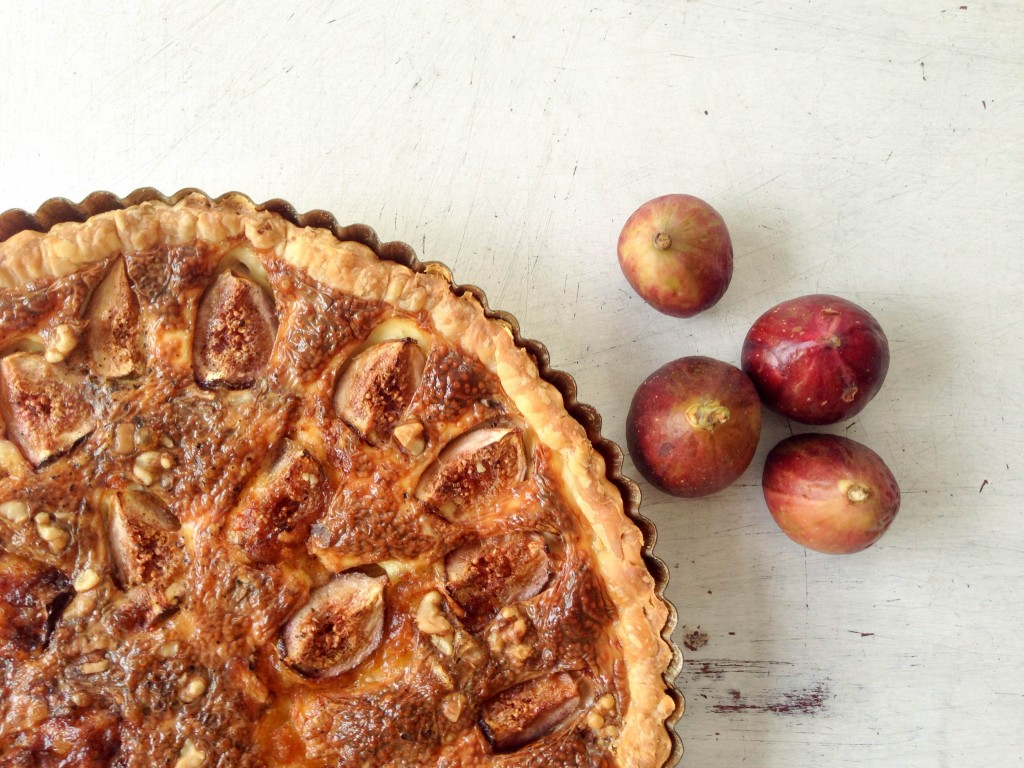 Fig & cheese tart – The Petit Gourmet©