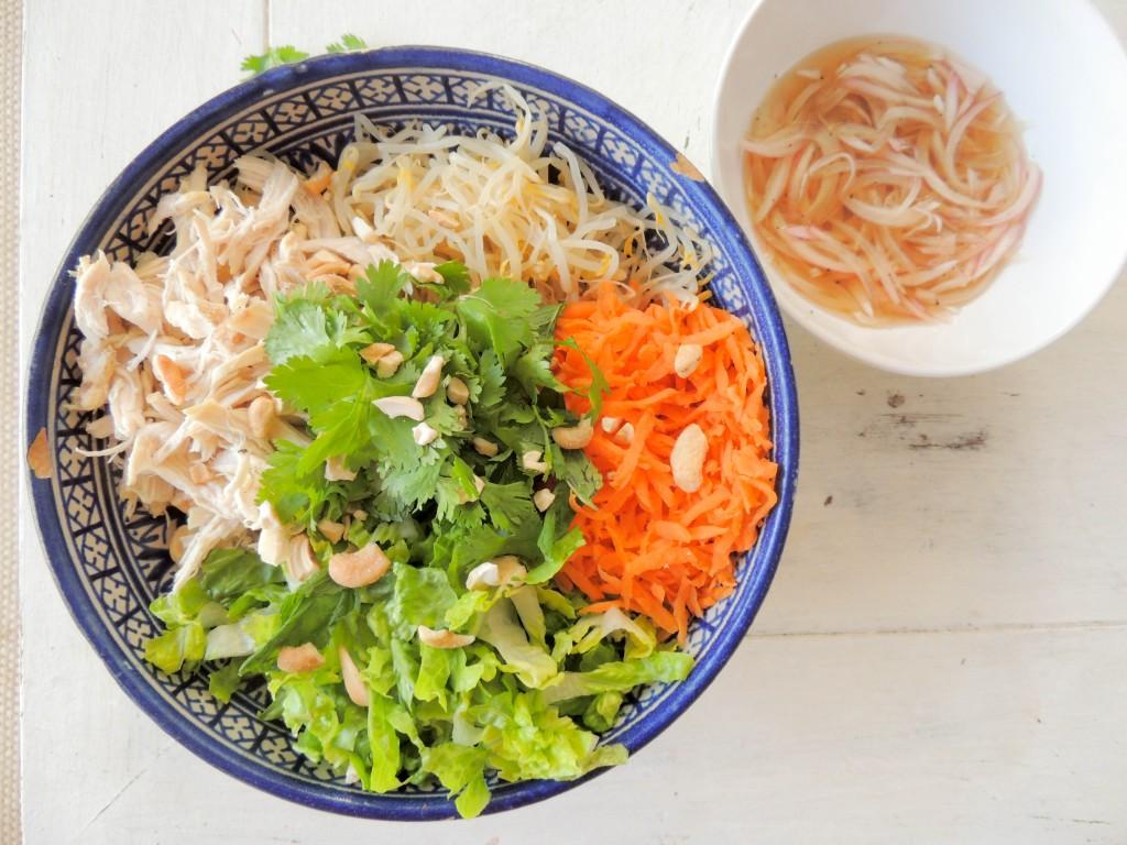 Vietamese Chicken salad