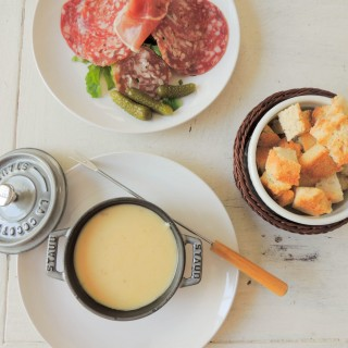 Cheese Fondue at home!