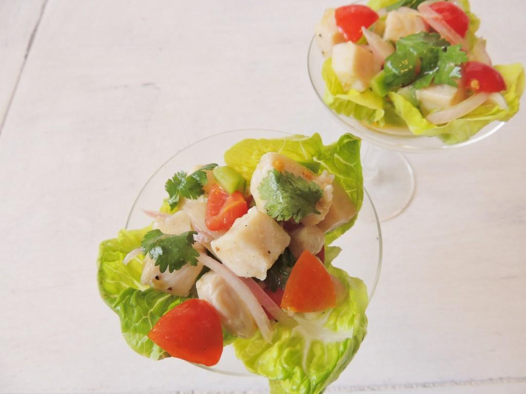 Classic Ceviche - The Petit Gourmet