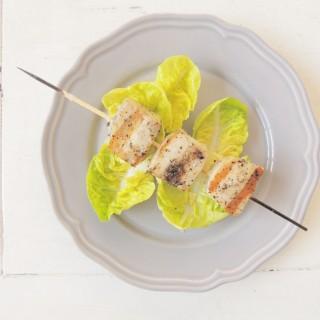 Grilled Mahi Mahi brochette