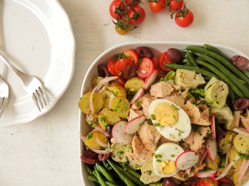 Nicoise Salad - The Petit Gourmet