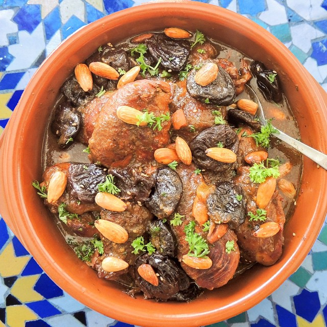 chicken tajine with prunes and almonds feed feed 24062015