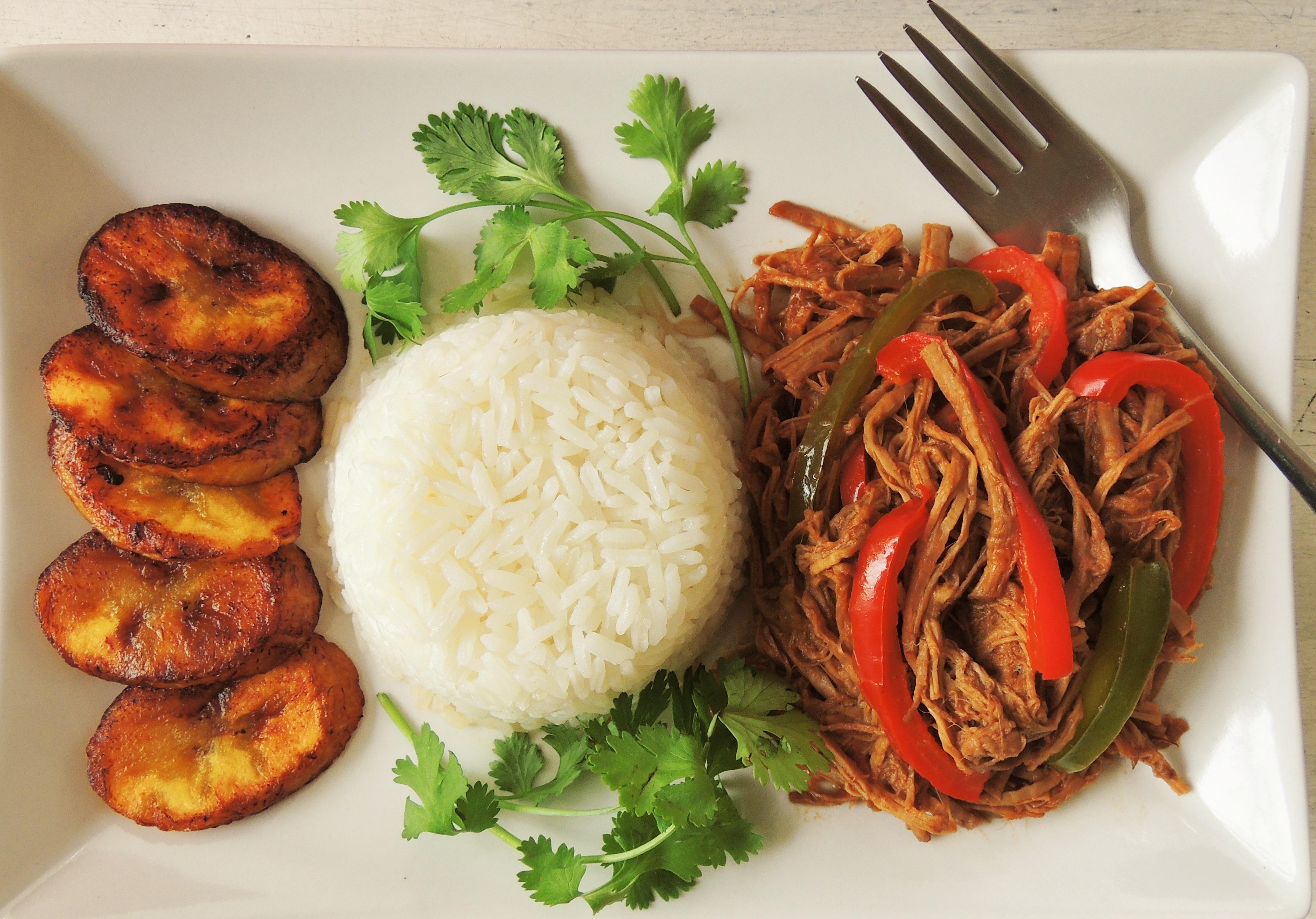 Ropa vieja Cubana (Cuban Shredded beef)