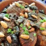 Chicken Tajine with prunes and almonds #SundaySupper