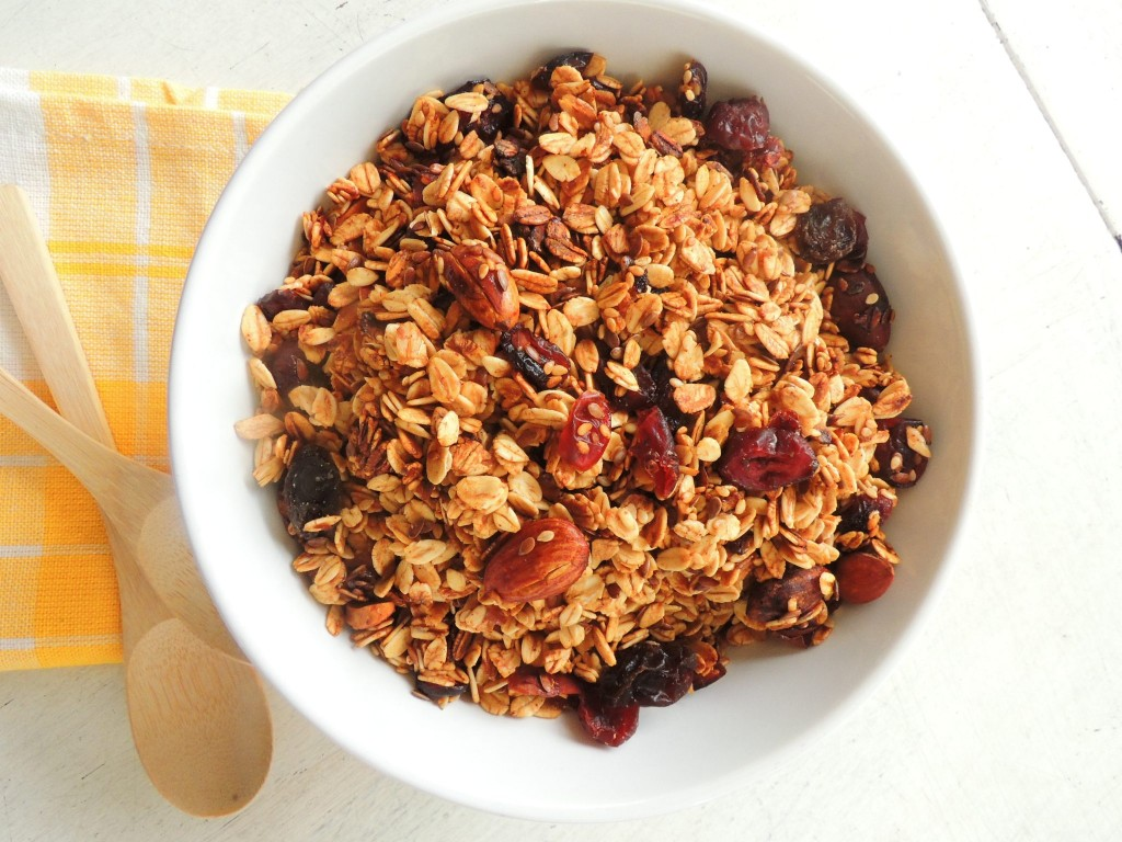 Honey Granola - The Petit Gourmet