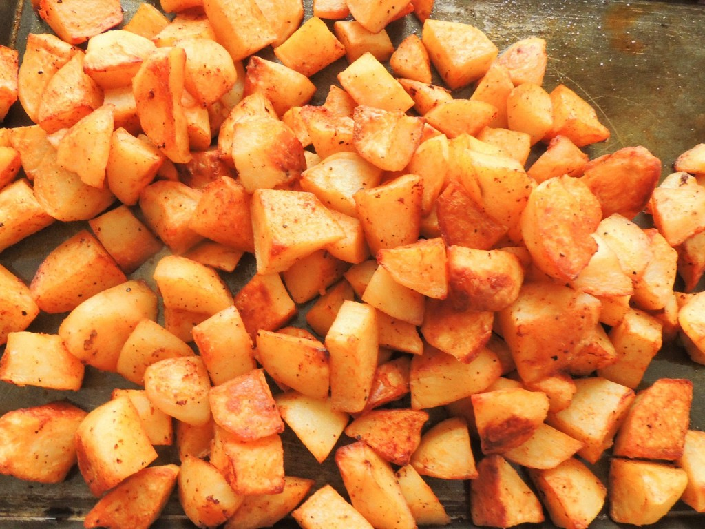Cilantro and paprika potatoes salad - The Petit Gourmet