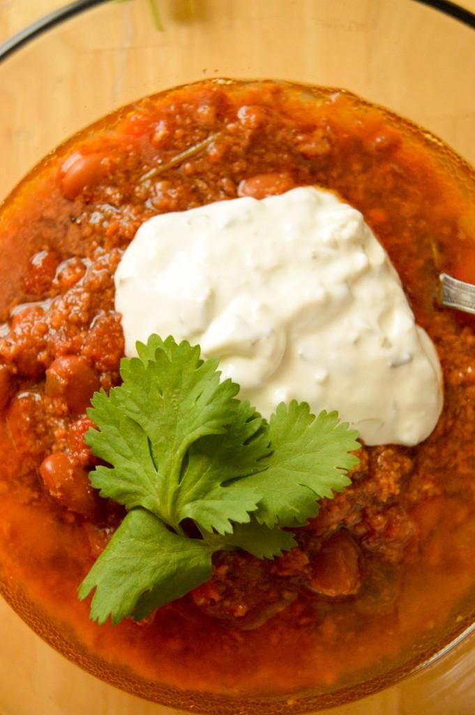 Easy Turkey Chili - Crock Pot