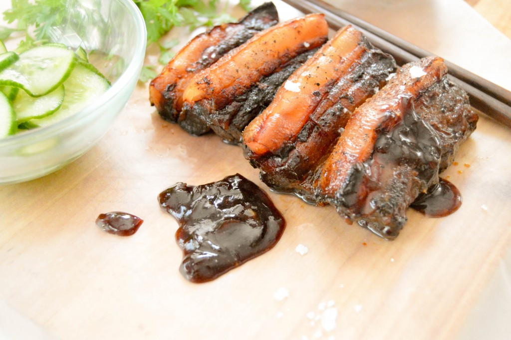 Char Siu Style pork belly - The Petit Gourmet