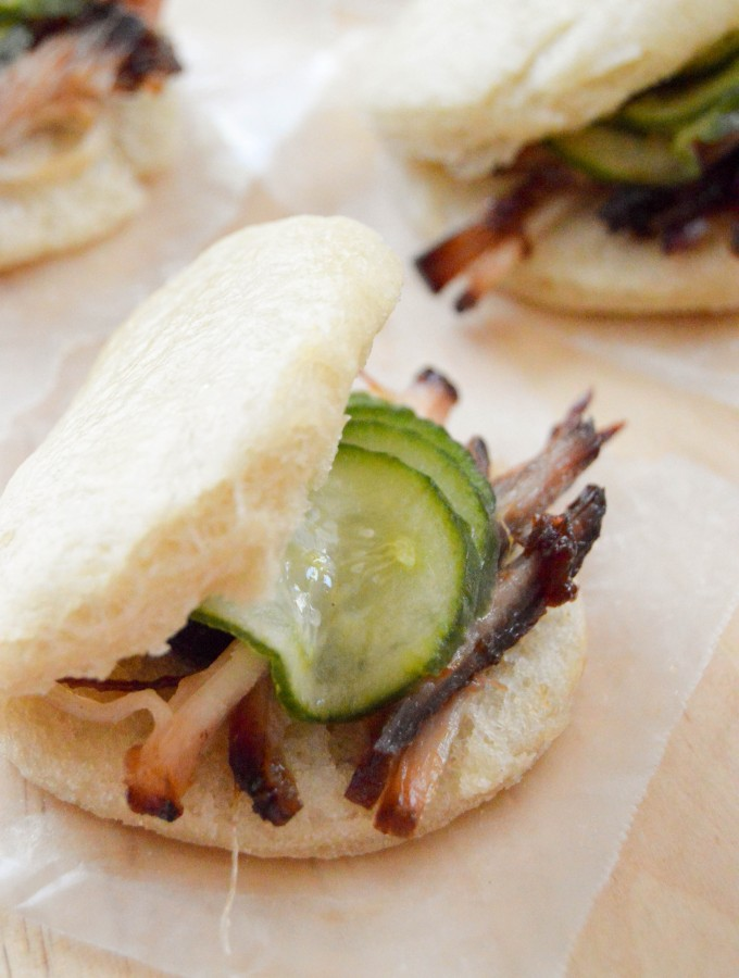 Bao buns or Chinese steamed buns
