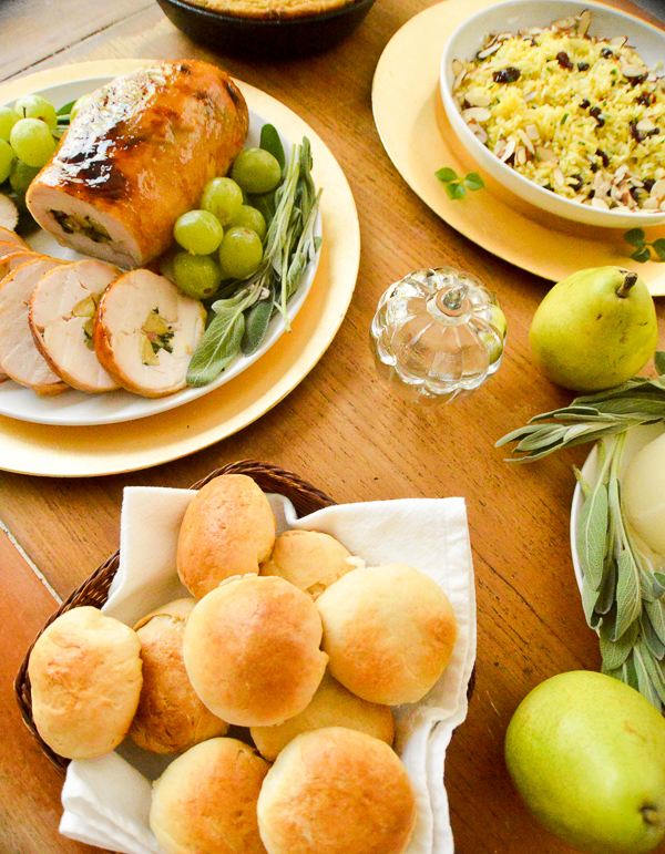 Potatoes dinner rolls