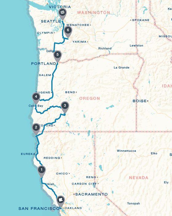 San Francisco y Seattle