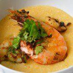 Thai garlic lime shrimp and grits