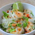 Thai Shrimp and noodles salad