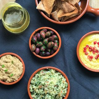 Super Bowl Recipes – Easy Lebanese spread
