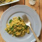 Kale fried Cauliflower rice