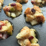 Croissants stuffing muffins