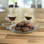 Chocolate almond coconut keto cookies