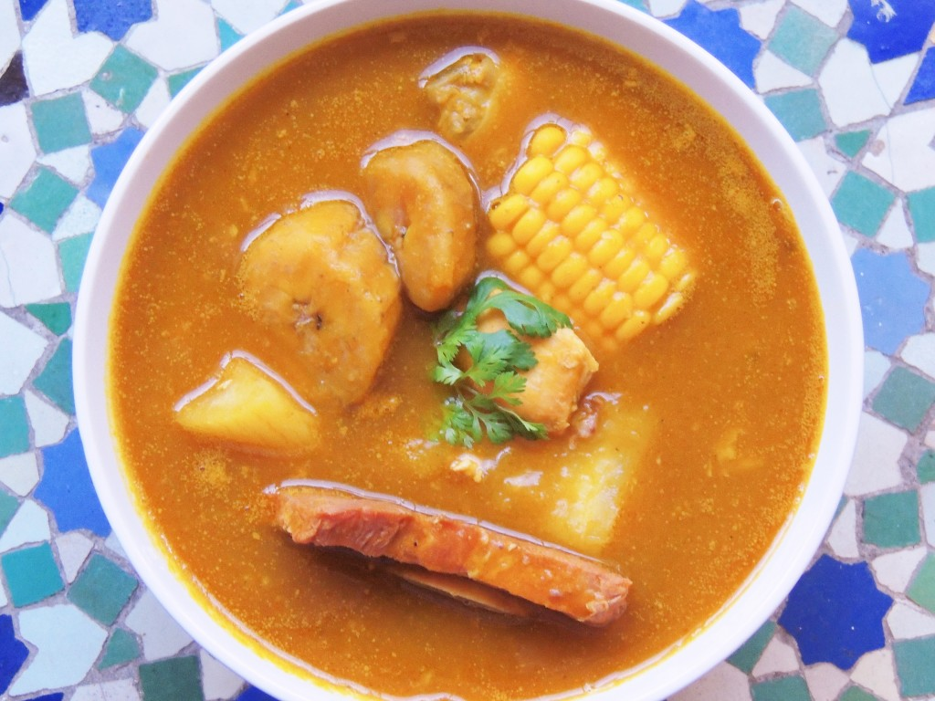 Dominican sancocho - The Petit Gourmet©