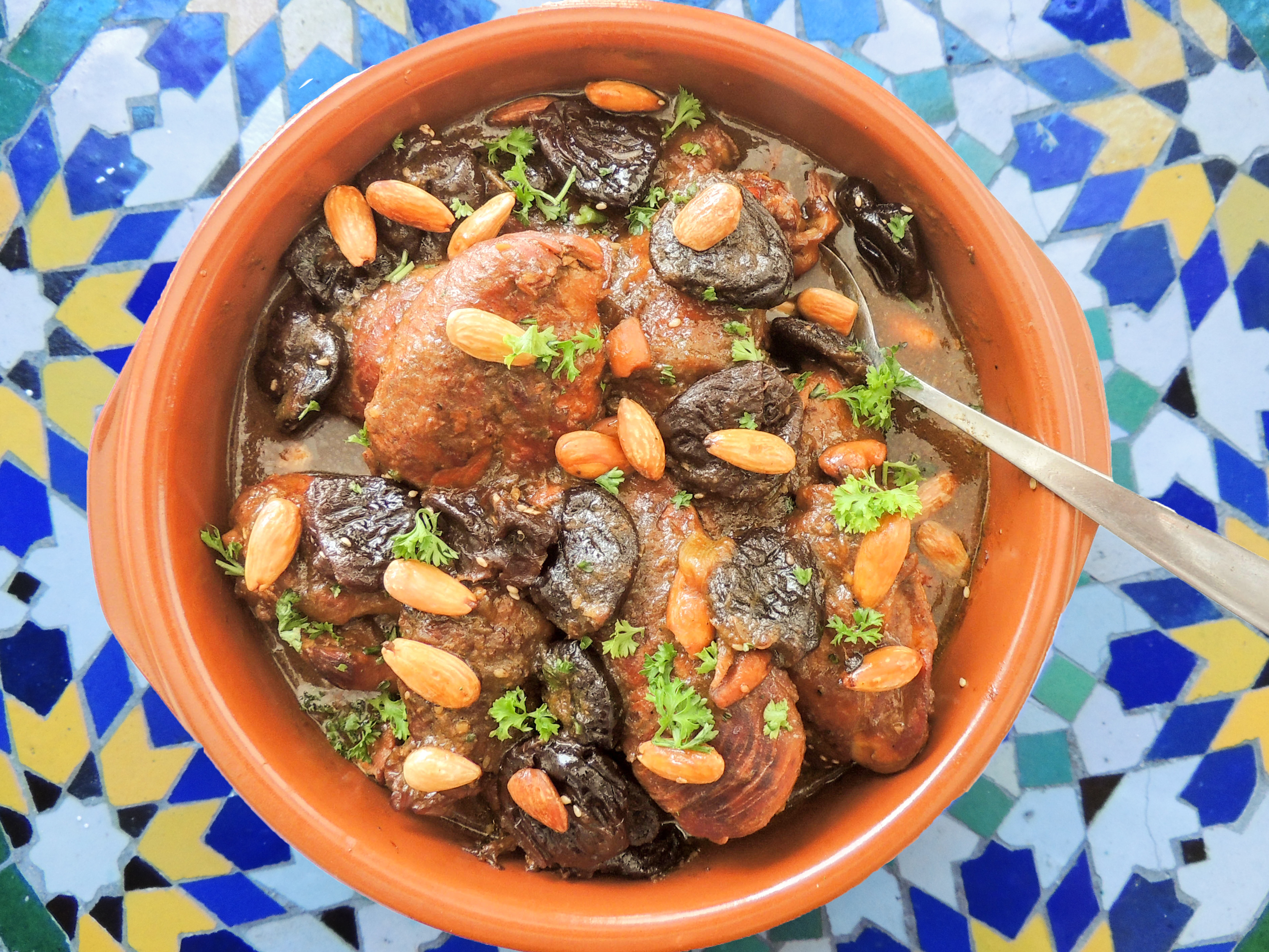 Meat with prunes. Chicken Cooking Recipe 31