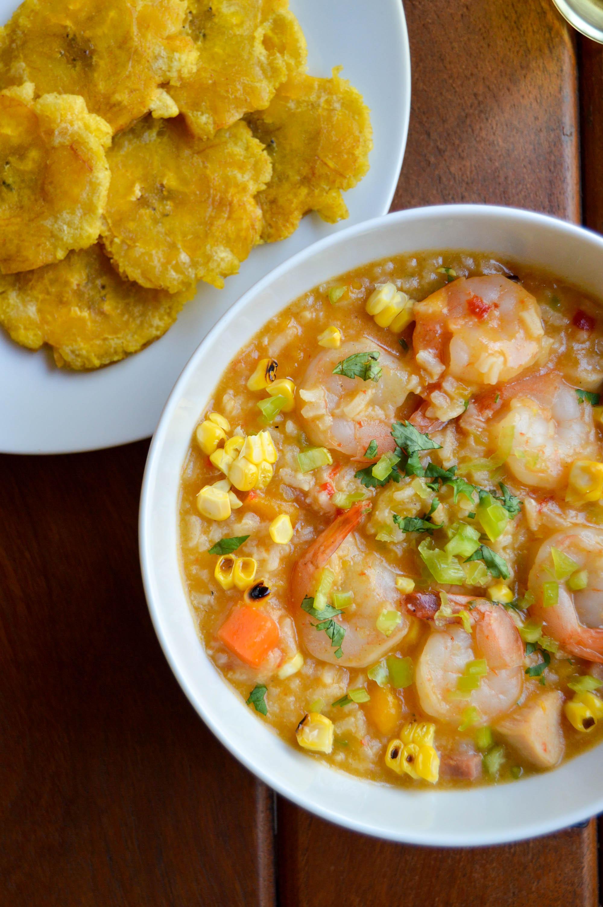 Asopao De Camarones Shrimp Rice Stew